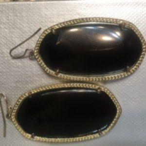 Kendra Scott - Large Black Earrings